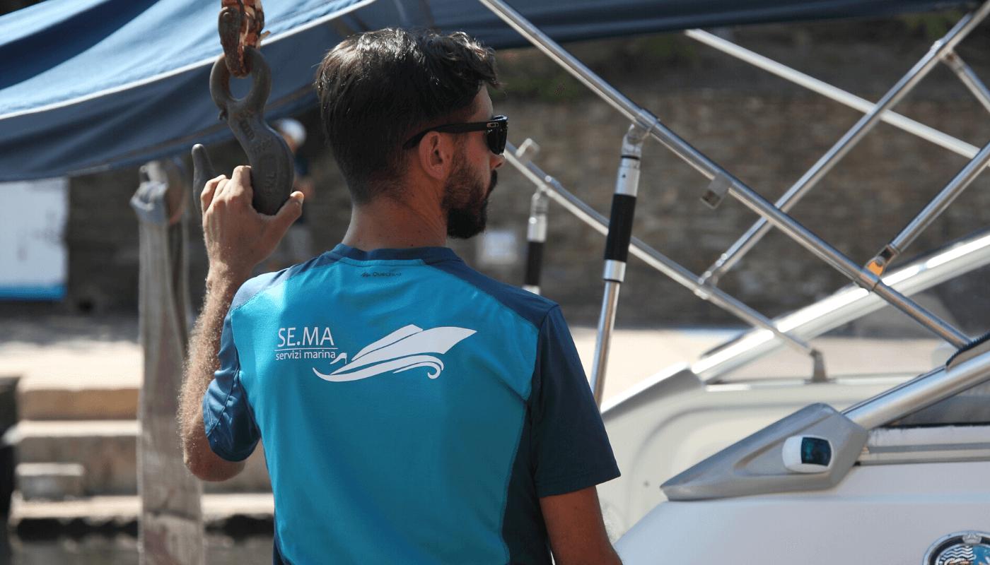 Ormeggio barca Stintino